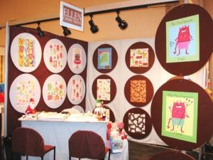A vendor booth at Surtex.