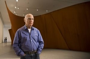 Richard Serra and his sculptures