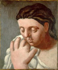 Head of a Woman by Pablo Picasso, one of the looted pieces.