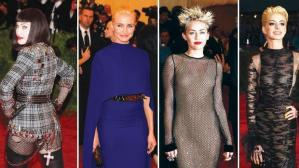 Madonna, Diaz, Cyrus, and pay their homage to punk.  Sid would be so proud.
